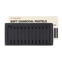 Inscribe Soft Charcoal Pastels Box of 12